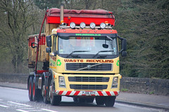 Volvo Skip Loader Peak Waste FJ06 ETY (SR Photos Torksey) Tags: road truck volvo transport peak lorry commercial vehicle waste loader skip fm freight logistics haulage hgv lgv