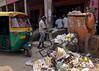 Street Sweeper (Mondmann) Tags: street travel india trash garbage asia delhi indian streetphotography broom newdelhi sweeping streetsweeper sweeper southasia mondmann fujifilmx100s