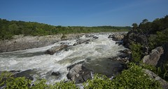 Potomac River At Great Falls (Odonata457) Tags: park county canal unitedstates great maryland falls national co potomac historical montgomery