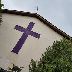 purple cross 20160523_152131 (roland) Tags: church vancouver purple cross crucifix purplecross
