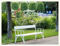 Rosarium Baden bei Wien | 2014-06 (Brigitte Rieser) Tags: park bench austria jardin bank parc rosegarden niedersterreich rosengarten badenbeiwien rosarium roseraie rosenpark doblhoffpark naturimgarten
