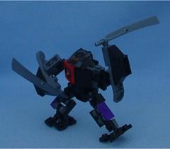 Enforcer 3a (Mantis.King) Tags: lego scifi futuristic mecha wargames mech moc enforcer microscale legomecha mechaton mfz mf0 mobileframezero legogaming