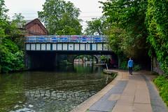 camden (kmccoolio) Tags: london england uk travel explore camden camdentown bridge graffiti lock canal path people nature art