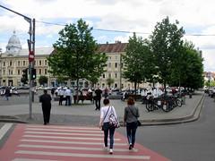 Cluj-Napoca - Union square (Bogdan Pop 7) Tags: summer architecture europe romania transylvania unionsquare transilvania kolozsvar cluj clujnapoca roumanie 2016 vara erdly erdely piataunirii kolozsvr ardeal romnia arhitectura klausenburg var ftr arhitectur egyeslstr