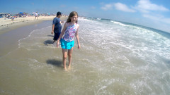 G0082227 (Tom Simpson) Tags: ocean beach maddie newjersey nj madeline jerseyshore boogieboard avonbythesea