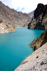 attabad lake (jzielcke) Tags: world voyage road travel pakistan de la reisen highway asia tour south silk du route karakoram kkh monde soie reise welt karakorum   seidenstrasse    seidenstrase  silkenstrasse silkenstrase