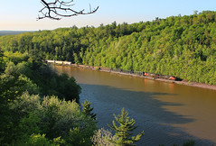 Take Two (view2share) Tags: railroad morning travel trees lake water leaves mi cn forest train spring woods track michigan transport may tracks rail railway rr trains roadtrip transportation rails local wilderness peddler ge upperpeninsula overlook freight northwood bluff railroaders springtime railroads northwoods northbound generalelectric canadiannational freighttrain uppermichigan 2016 railroading freightcars northernmichigan marquettecounty gooselake freightcar dash9 rring c449w trackage logcar rrcar mixedfreight cn2553 marquetterange marquetteironrange oreline pulpwoodcar marquetterangesub l549 cn2648 may2016 deansauvola may302016
