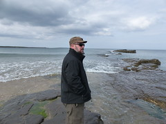 Jim at Spanish Point (jen-the-librarian) Tags: ireland jim spanishpoint countyclare