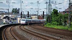 Curved Rails 1 (cokbilmis-foto) Tags: ice station train track sony tracks rail rails nrw curve dusseldorf curved dsseldorf volkspark duesseldorf almanya rx100