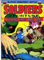 Soldiers of Fortune 10 (Michael Vance1) Tags: art adventure artist anthology soldier war comics comicbooks cartoonist silverage