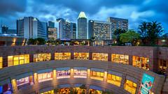 Blue Hour overseeing Marina Square (tehhanlin) Tags: landscape singapore cityscape sony ngc esplanade bluehour sg panpacific sunteccity mandarinoriental marinasquare marinabay meritusmandarin meritus esplanadelibrary exploresingapore sg50 yoursingapore variotessar16354za sgheartmap a7r2 a7rm2