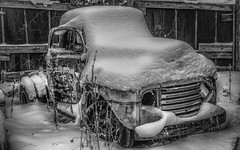 Frozen Ford (minolta102) Tags: frozen ford f3 vintage junk abandoned