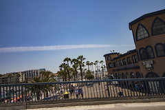 Looking Down the Strand (etzel42) Tags: ocean california santa ca pier santamonica socal monica boardwalk westcoast