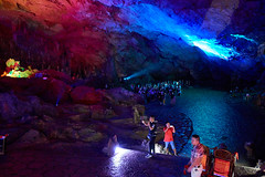 Reed Flute Cave (Lengs83) Tags: china sedan movie guilin cave carry auditorium sedanchair spleunking reedflute