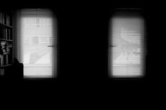 Inner Prison (Isengardt) Tags: light dark see licht jalousie books olympus bookshelf inner prison believe mind soul knowledge geist dunkel omd seele bcher finster em1 gefngnis knast wissen sehen glauben dster 1250mm innerlich verinnerlicht
