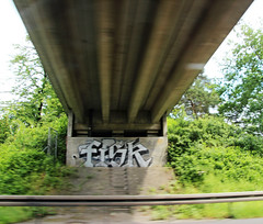 Fisk. (universaldilletant) Tags: graffiti fisk offenbach