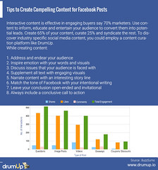 Compelling content for Facebook (Social Media & Content Curation Platform) Tags: marketing media internet content social monitor guide employee facebook analytics advocacy infograph drumup employeeadvocacy