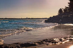Evening By The Beach (k009034) Tags: 500px waves australia caloundra copy space glasshouse mountains queensland tranquil scene beach evening nature ocean oceania reflection rocks sand sky travel destinations trees water teamcanon copyspace glasshousemountains tranquilscene traveldestinations