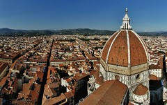 Florence panorama (sonofwalrus) Tags: canon eos7d slr florence italy italia europe stitched panorama pano city dome cathedral cattedraledisantamariadelfiore rooftops building architecture