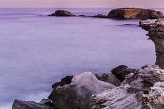 Escullos  010316-8234 (Eduardo Estllez) Tags: paisaje atardecer largaexposicion mar mediterraneo agua costa rocas acantilado escarpado rocoso volcanico fosil nublado natural naturaleza horizontal color nadie parquenatural lugaresdeinteres destinosturisticos cabodegata escullos almeria estellez eduardoestellez espaa