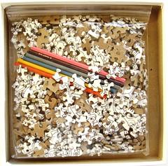 Color Me Purrr-fect! (Leonisha) Tags: puzzle jigsawpuzzle puzzlepieces puzzleteile