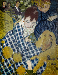 Pierre Bonnard - Women with Dog (Clark Art Institute Williamstown MA) at Pierre Bonnard: Painting Arcadia Exhibit Legion of Honor Museum of Fine Arts San Francisco CA (mbell1975) Tags: sanfrancisco california unitedstates us pierre bonnard women with dog clark art institute williamstown ma painting arcadia exhibit legion honor museum fine arts san francisco ca museo muse musee muzeum museu musum mze finearts gallery gallerie beauxarts beaux galleria french impression impressionist impressionism