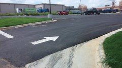 New Pavement and Paint Job (Retail Retell) Tags: kroger marketplace v478 hernando ms desoto county retail construction expansion project
