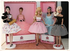 A few of the 2016 Bon Bon Poppy Collection (JennFL2) Tags: powder puff miss amour poppy parker bon collection jennfl 2015 w club lottery integritytoys