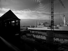 Hamburg - Vorsetzen (chicitoloco) Tags: zwischen landungsbrücken und cap san diego tasquinha galego hamburg bauwall u3 u3bahn ubahn
