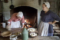 Colonial Williamsburg Virginia  Va. (watts_photos) Tags: colonial williamsburg virginia va great hopes plantation kitchen cooking food