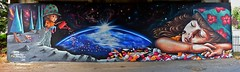 Pluie d'amour (HBA_JIJO) Tags: urban graffiti art france artiste artist hbajijo wall mur painting fresque peinture murale spray pont decoration paris78 doudoustyle smerg doudou dream rve streetart