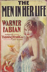The Men in Her Life (54mge) Tags: book dustjacket novel fiction stanley paul flamingyouth warner fabian