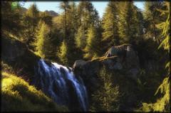 in principio l'acqua (gramignacosy) Tags: lagodimognola vallavizzara cantonticino svizzera cascata filtri boschi alberi