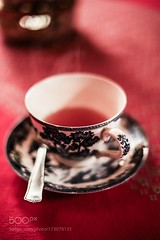 A Cup of Tea (SeattleHVAC172) Tags: cup red fresh black healthy food tea hot drink comfort rooibos bush redbush