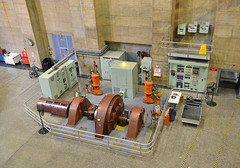 Small Hoover Dam Turbine (dr_marvel) Tags: hoover hooverdam hydroelectric electricity turbine nevada arizona dam water concrete cement