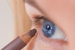 Eye pencil (la posie des images) Tags: macromondays ppep laposiedesimages macro eyepencil cils eyelashes blueeyes