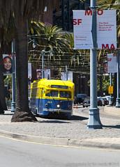 Embarcadero PCC (I) (imartin92) Tags: sanfrancisco california municipal railway muni trolley tram pcc embarcadero