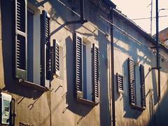 (Luca3803) Tags: windows window alleys alley place square italy roads road blinds blind homes houses house home sun sole casa case tapparelle tapparella strade strada italia piazza vicoli vicolo persiana persiane finestre finestra