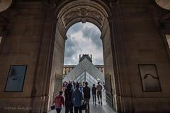 Wo fhrt mich das hin? / Where does this lead me to? (Andy.R.R) Tags: people paris france nikon leute louvre menschen pyramide d700