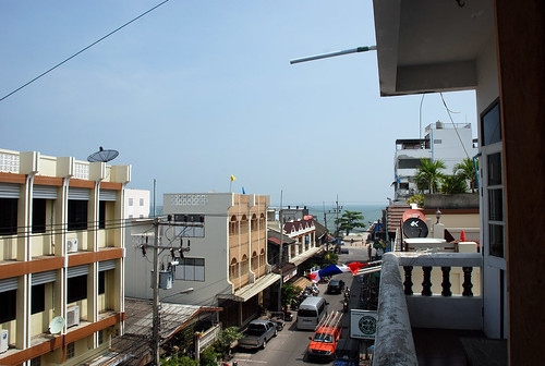 View from hotel, Hua Hin
