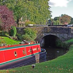 D11422.  Marple Flight. (Ron Fisher) Tags: uk greatbritain england canal cheshire unitedkingdom gb narrowboat waterways marple peakforestcanal northwestengland marpleflight