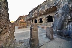 India - Maharashtra - Ellora Caves - Cave 21 - 3 (asienman) Tags: india maharashtra elloracaves asienmanphotography