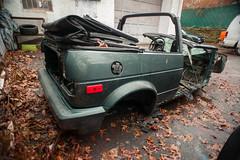 DSC_6556 (Anthony Mealie) Tags: rabbit vw prime nikon anthony 20mm destroyed cabriolet mk1 mealie d700
