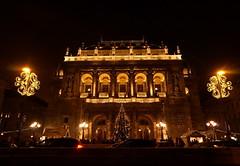 Budapest Opera House at Christmas time (elinor04 thanks for 25,000,000+ views!) Tags: christmas house building architecture festive opera advent outdoor events budapest style architect ybl yblmikls neorenassaince nutcrackerfestival