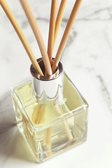 Aromatherapy reed diffuser air freshener close up (jodiesportfolio) Tags: white home glass beauty reeds wooden sticks perfume background fresh bamboo clean crisp harmony smell oil frangipani jar vanilla senses marble copyspace relaxation aromatic spa oils tranquil diffuser scent homely airfreshener fragrance aroma treatment scented aromatherapy wellbeing pampering textspace reeddiffuser