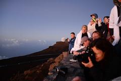 The other crazy people (phil dokas) Tags: sky sunrise hawaii unitedstates maui haleakala summit kula