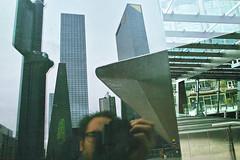 "Rotterdam Centraal (""Daniel"") Tags: reflection station mirror rotterdam daniel central sigma selfie weena dp1 portier danielportier"