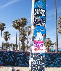 zoer (Visual Chaos) Tags: venicebeach losangelesgraffiti sticker zoer scicrew slaptag graffiti zoerscicrew fearo jerze uti dcv trixter aquit hol kws bruce dee