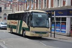 DC06CLC - Crawley Luxury (lazy south's travels) Tags: uk england bus volvo coach britain devon luxury touring coaches crawley teignmouth axial vdl berkhof dc06clc