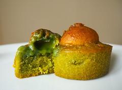 Matcha Japanese Sweets (kanabananana) Tags: food cake japan olympus foodporn sweets   eats matcha olympuspen   epl7